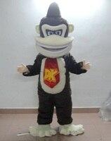 Fighting chimpanzee mascot costume adult chimpanzee ape costume
