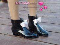 бесплатная доставка, специальная цена, 4 цвет гель с группа япония батальона. женщина резиновые сапоги, дождь ботинки, женская stun воды туфли