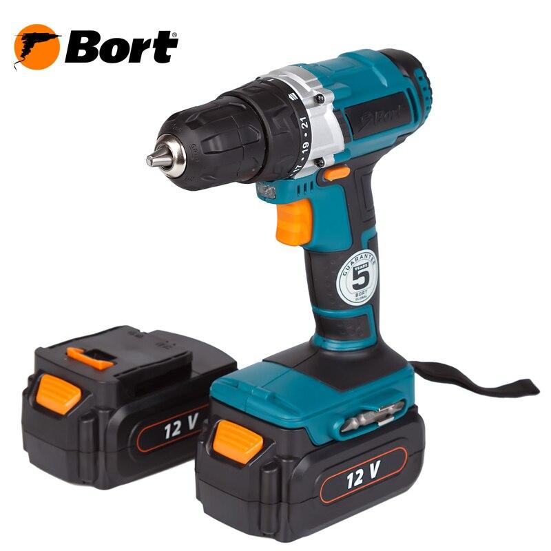 Cordless Drill/Driver Bort BAB-12-D
