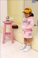 девочка ' ы костюм / веселая осень одежда милый девочки двухкомпонентный костюм для дети / двухкомпонентный комплект девочек костюмы розовый