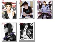горячая! для Justin Bieber твердый фиолетовый чехол для для iPad2 + бесплатная доставка
