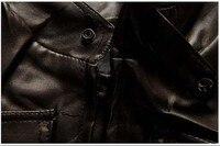 2015 новые пальто британский стиль мода свободного покроя стоячий воротник карман украшение искусственная кожа septwolves куртки мужчины бесплатная доставка