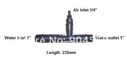 """1 """"Озон инжектор, озона Вентури инжектор, генератор озона смешивания газов части"""