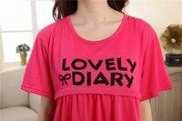 бесплатная доставка для беременных пижама уход одежда грудное вскармливание ночной рубашке женщин пижамы беременным беременных лактации одежда