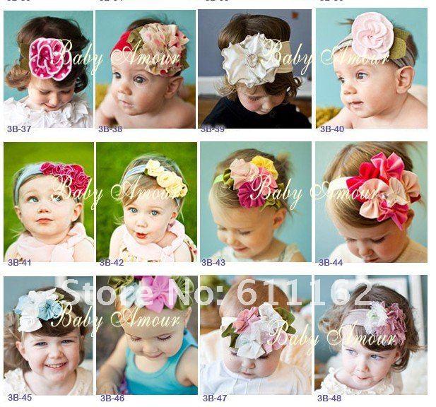 100 шт 4 ''пион Гербер Пион Детские банты для волос детские заколки для девочек цветы полосы 50 шт nvcxx5202