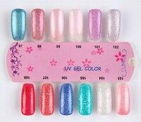 мода ногтей лак 6 шт. БК гель-лак 168 цветов 10 мл бесплатная доставка лак для ногтей клей