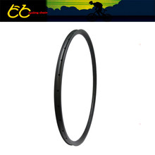 28mm Width Carbon mountain bike rim 650B Hookless Tubeless Compatible Asymmetric