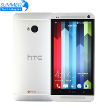 Original Unlocked HTC ONE M7 Cell phones Quad core 4.7'' Android GPS WIFI 2GB RAM 32GB ROM Refurbished Mobile Phone