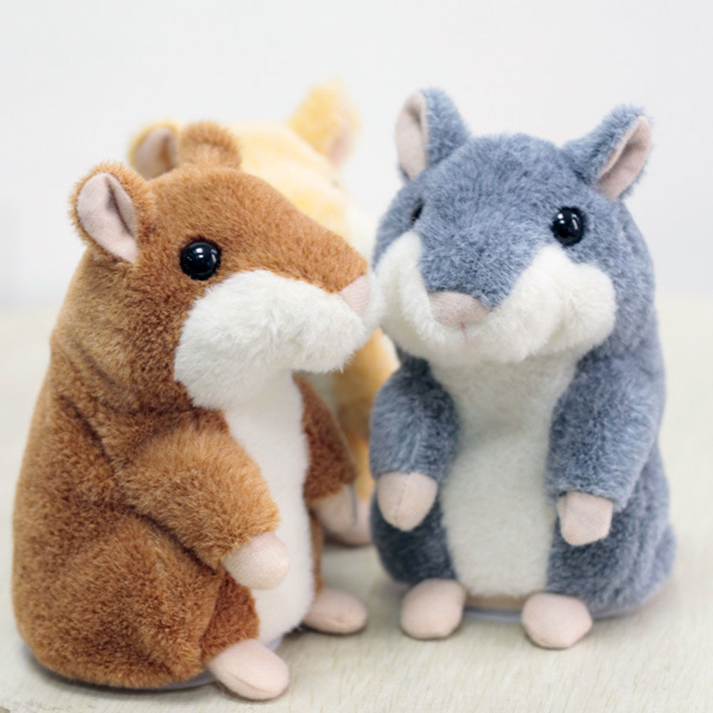 Free Shipping New Russian Talking Hamster Pet Electronic Interactive Speaking Record Plush Stuffed Toys beeztees 801445 hamster
