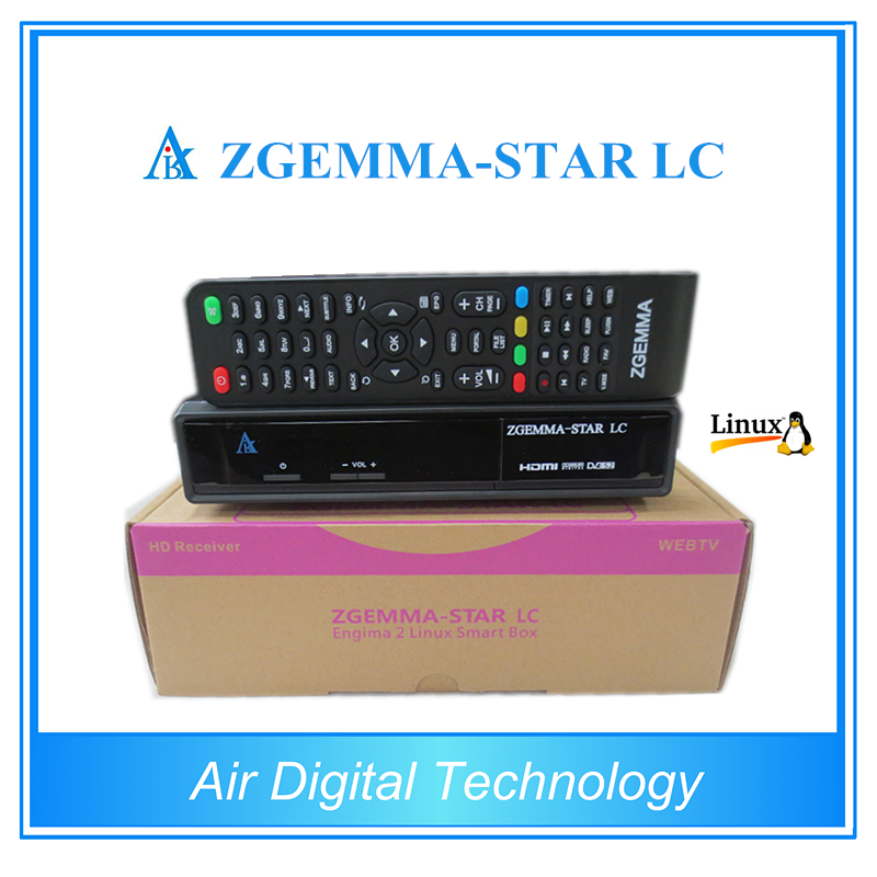10pcs/lot Original Digital Cable tv Set Top Box zgemma-star LC with DVB-C cable tuner Best HD Linux Cable Receiver 10pcs lot sen013dg original