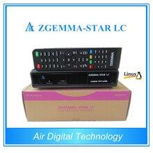 10 шт./лот Оригинальный Цифрового Кабельного телевидения (Set Top Box zgemma-звездочный LC с DVB-C кабельным тюнером Лучший HD Linux кабельный Ресивер