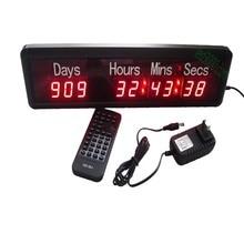 Большой спортивный день, часы, минуты и секунды, светодиодные цифровые часы обратного отсчета (HIT9-1R)