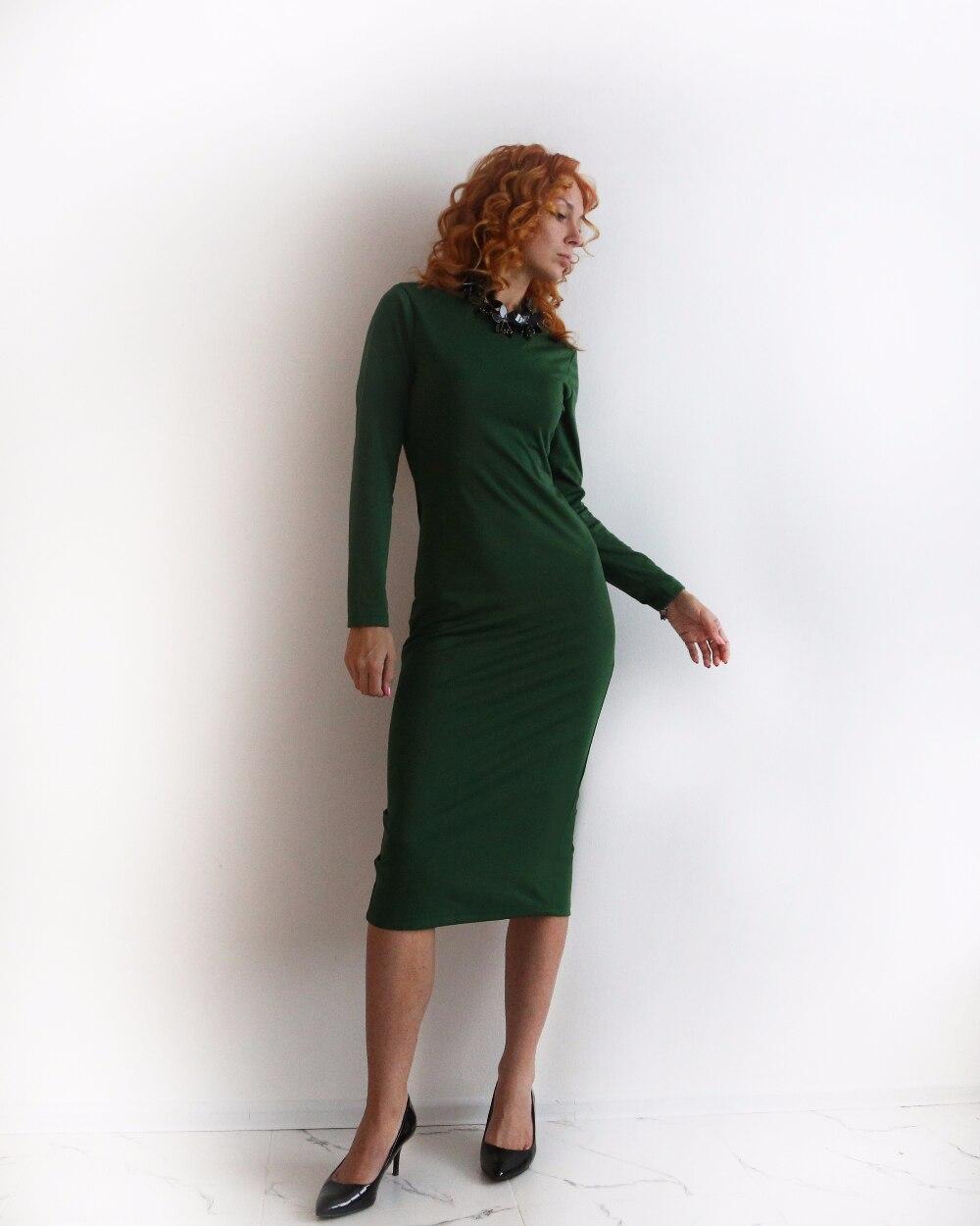 ЗЕЛЕНОЕ ПЛАТЬЕ с МОЛНИЕЙ - одна из ЛУЧШИХ покупок 2016 года! (обзор) как же я люблю благородный зеленый!!! Для рыженьких девушек, думаю, этот цвет в гардеробе - must have