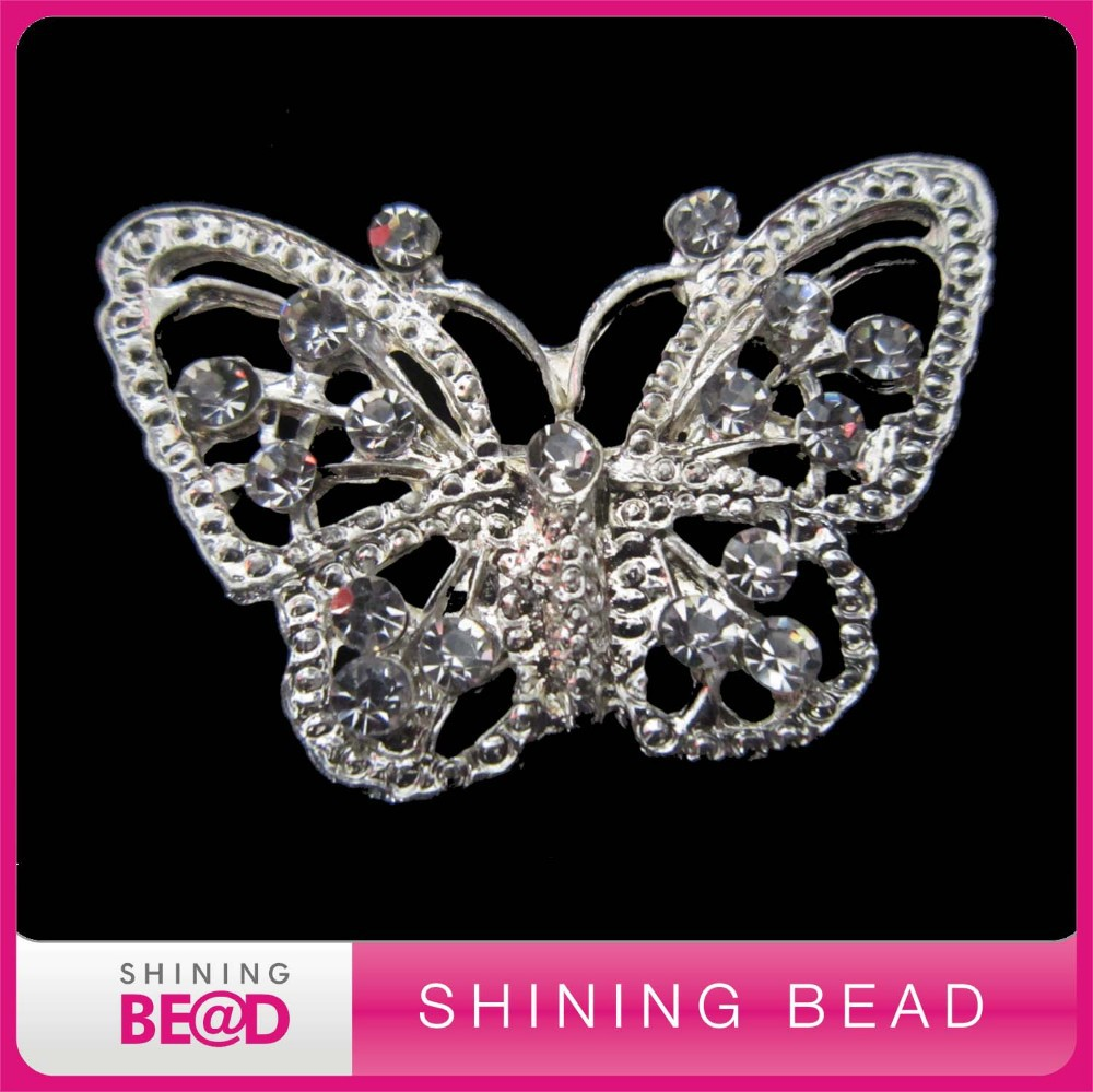 Модного дизайна со стразами брошь булавка,, брошь с бабочкой из горного хрусталя для свадебного украшения, горячая Распродажа Брошь со стразами
