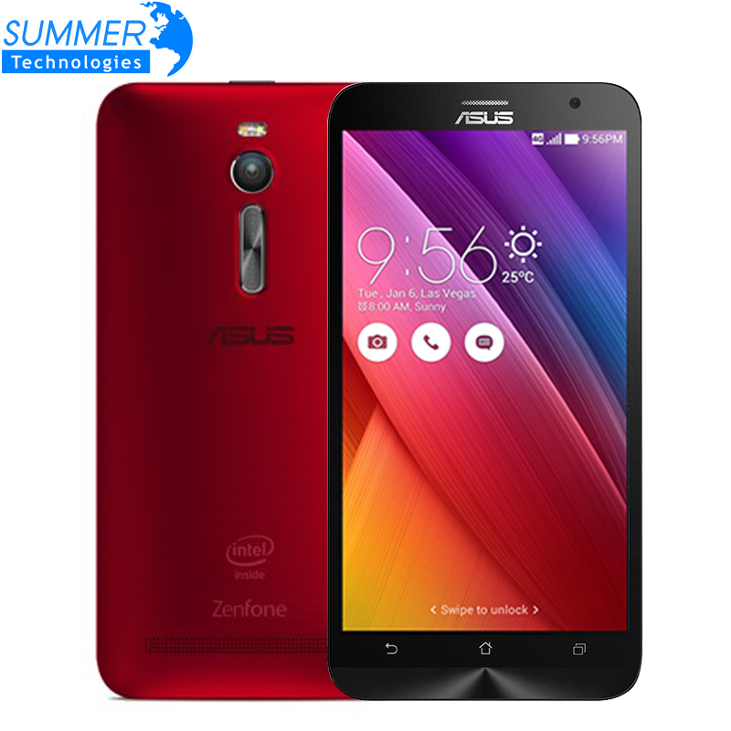 Original ASUS Zenfone 2 ZE551ML 4G LTE FDD Android 5.0 Quad Core 5.5 Inch 1920x1080 13.0MP NFC Mobile Phone