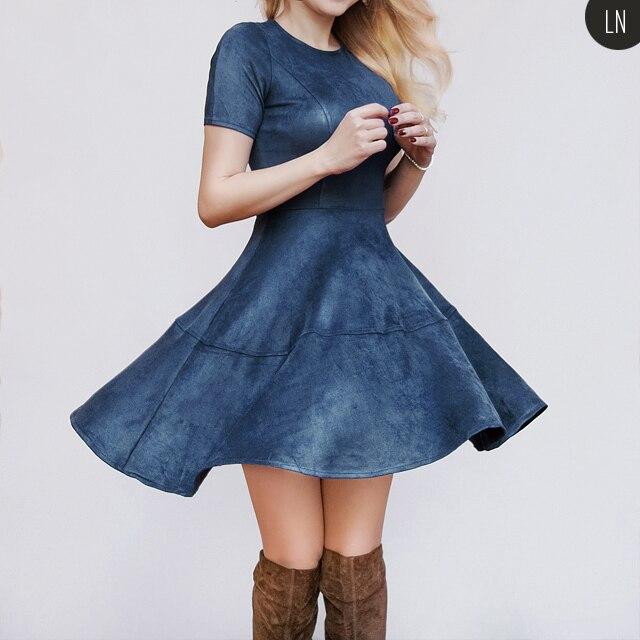 «Замшевое» платье с Алиэкспресс
