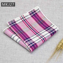 Men's Pocket Square Cotton Handkerchief Tie Wedding Party Formal Suit Decor