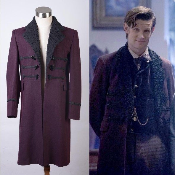 Who is Doctor Eleventh 11th Dr. Purple Wool Frock Coat Costume Cosplay Men Clothing  sc 1 st  AliExpress.com & Who is Doctor Eleventh 11th Dr. Purple Wool Frock Coat Costume ...
