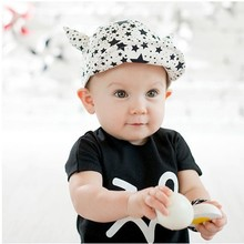 baby boy and girl devil horns peaked lovely hat special fashion cap