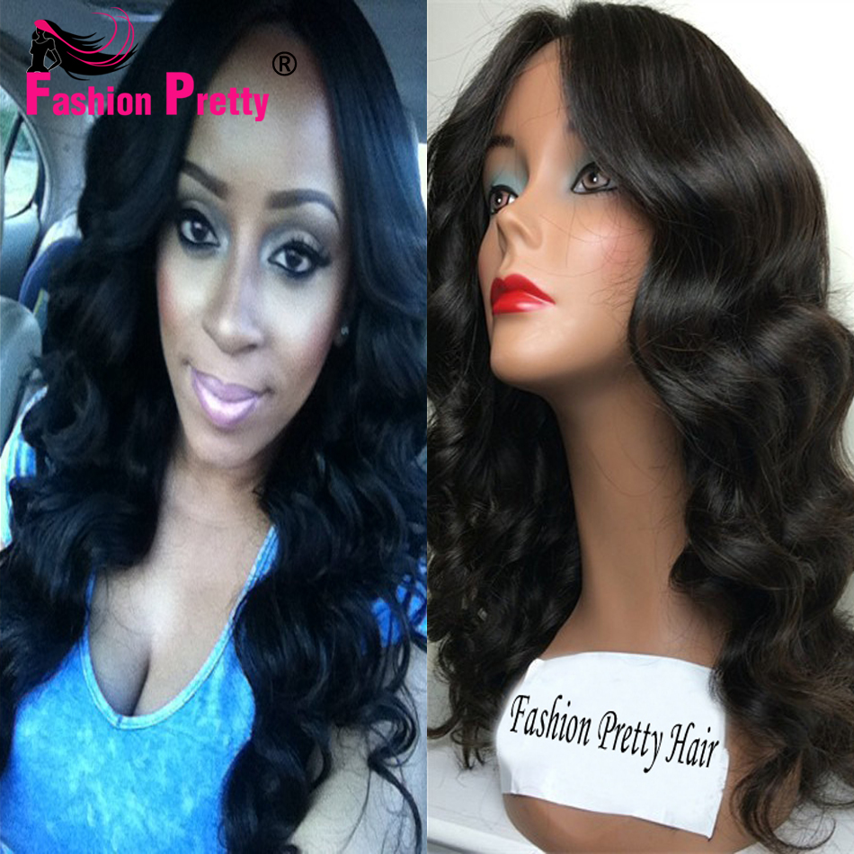 Best Body Wave Silk Base Wig Virgin Brazilian Human Hair Glueless Silk Top Full Lace Wigs With Natural Hairline For Black Women l