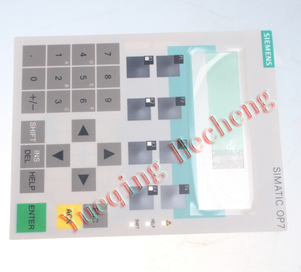 все цены на  New for Membrane Keypad SIMATIC OP7 6AV3 607-1JC20-0AX1  онлайн