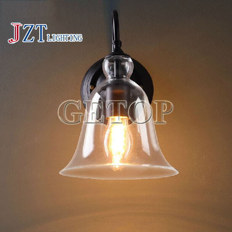T LOFT American Country Iron Pipe LED Lamp Bar Corridor lights Wall lampindustrial wind restoring ancient ways Length22Wide31cm europe type restoring ancient ways is the copper single head ceiling lamp restaurant corridor corridor led to ceiling lamp