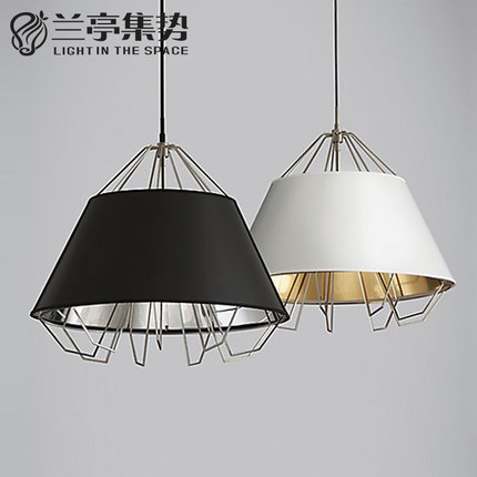 American Country Retro Metal Pendant Lamp Smoothly Simple Restaurant Light Coffee Light D550MM Free Shipping