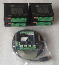 USB ЧПУ КОМПЛЕКТ 4 оси TB6600 5А, с usbcnc завод лицензии
