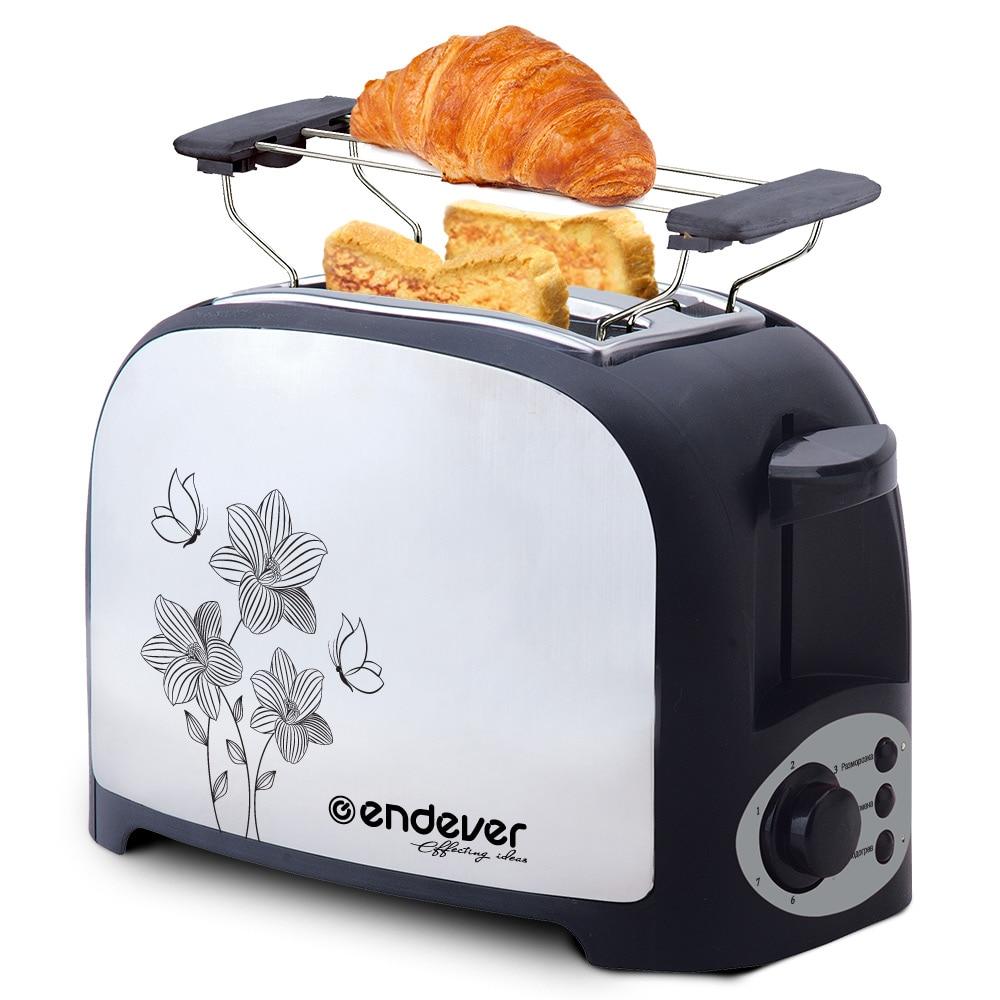 Toaster Endever Skyline ST-117 711110 sandwich toaster endever skyline sm 21 80427