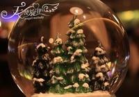 романтический хрустальный шар музыкальная шкатулка проблесковый маяк снег дом девушки подарки на день рождения christamas подарки