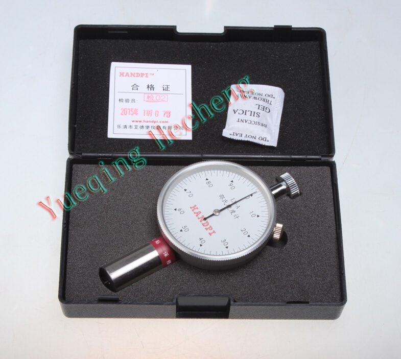 New LX-A Shore Durometer Type A Rubber Hardness Gauge Tester Meter dual needle lx a shore a sclerometer