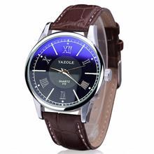 Hothot caliente Relojes Hombres Brown Banda de Cuero Resistente Al Agua Relojes de Pulsera Brazalete Pulsera de Cuarzo Analógico Negocios ap18