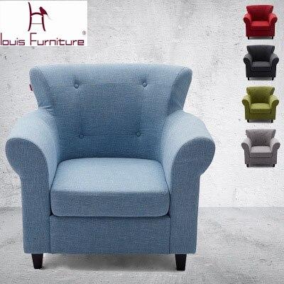 Panno di colore solido divano sedia pigra divano schienale alto den ...