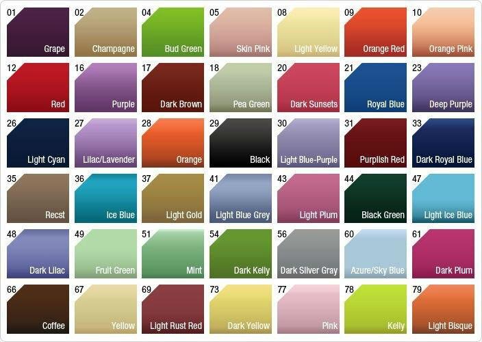 Jjshouse color chart siteandsite com