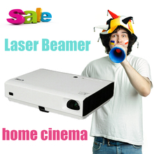 3800Lumens Android 4.4 DLP Laser+LED portable Projector Wireless Wifi Mini Projector Full 3D HD Proyector Home Theater 1280*800
