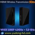 HD Видео/Аудио Система Передачи Сигнала HDMI беспроводной Extender 50 М HD приемник и передатчик 1080 P до 200ft