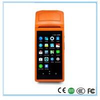 Беспроводной Портативный получения принтер для ресторана с Wi Fi Bluetooth и gprs сенсорный экран POS машина sunmi v1 pos 58