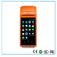Wireless Portable receipt printer for restaurant with wifi bluetooth and GPRS touch screen pos machine SUNMI V1 POS 58