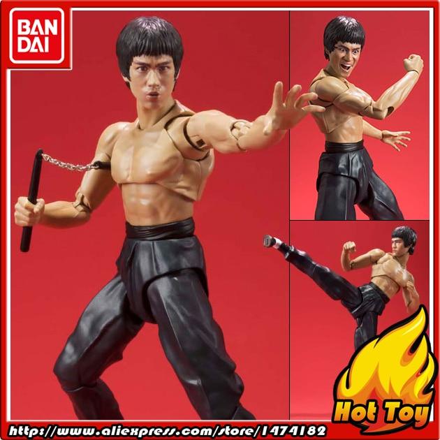 100% Original BANDAI Tamashii Nations S.H.Figuarts (SHF) Action Figure - Bruce Lee цена