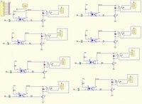8 модуль платы расширения управления пояса оптронными изоляции из светодиодов