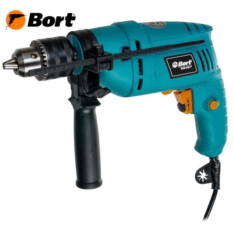 Percussion drill Bort BSM-500-P bort bps 500 p 93720315 электрический лобзик blue