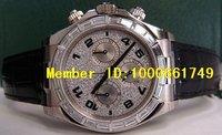 профессиональный часы.2008 редкие часы дайтона полный вымощает алмаз багет