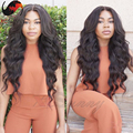 Heavy Density Beautiful Wavy 100% Unprocessed Human Hair Full Lace Wigs Brazilian Virgin Hair 180% Density Full Lace Wig