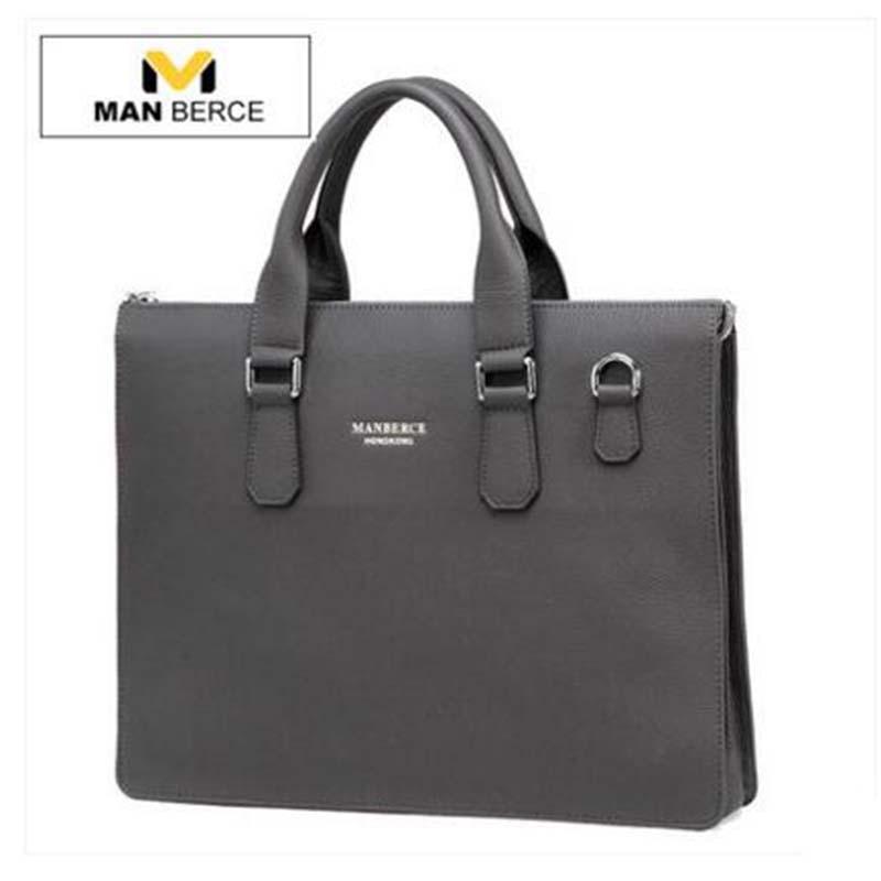 European And American Fashion Genuine Leather Zipper Large Capacity Man Bag Designer Famous Brand Shoulder Messenger Handbag