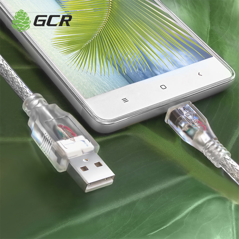 GCR Micro USB Cable USB Data Cable Fast Charging Cable For Phone Android USB Charging Cord Wire For Meizu Xiaomi Samsung