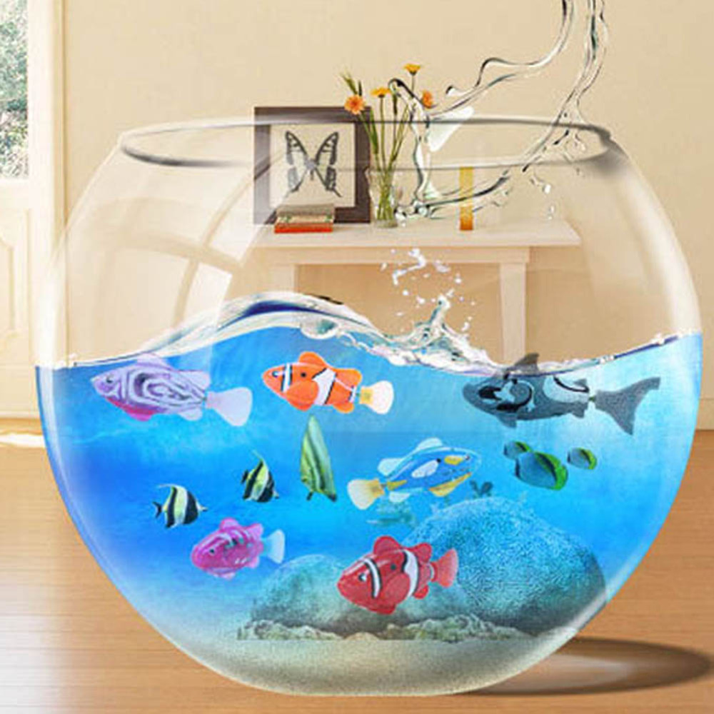 Online buy wholesale fish electronic from china fish for Robo fish tank