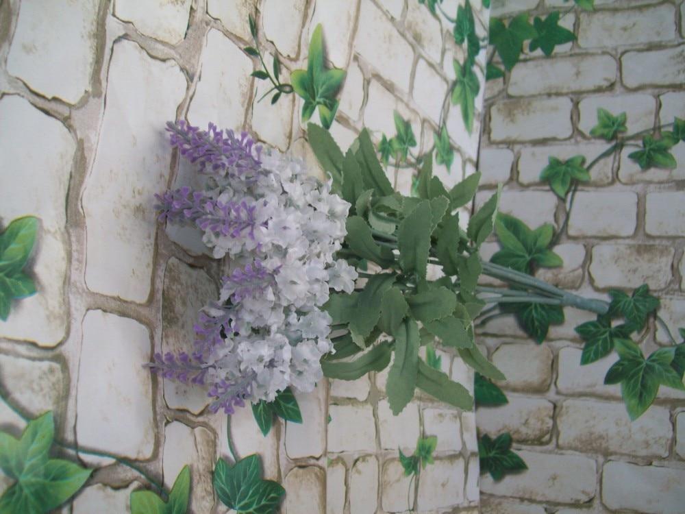 36 см Ткань 16 компл. Х 10 ветка Свадебный домашний Декор Искусственный букет из цветов лаванды для церкви фиолетовый FL046