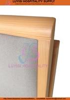 горячие продажи штабелируемый обеденный стул дерево алюминиевые