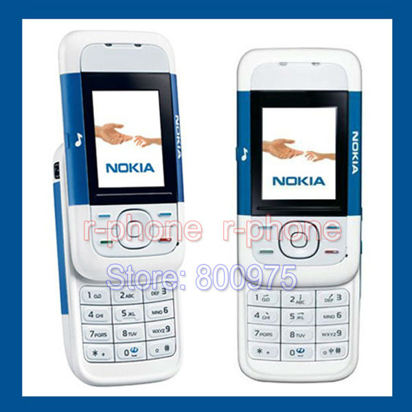 US $91 99 |Cheap Original Nokia 5200 Mobile Phone Classic Slider Music  Phone GSM Refurbished Unlocked-in Cellphones from Cellphones &