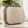 2016 New Fashion snakeskin women PU leather handbags women's bag shoulder bags for Party Day Clutches Purses HBF11